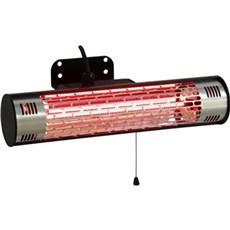 HORTUS Terrassevarmer - HORTUS Terrassevarmer vægmodel 1000 W GT sort, Min