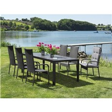 Outrium Havemøbelsæt - Toscana Toledo 6 stole