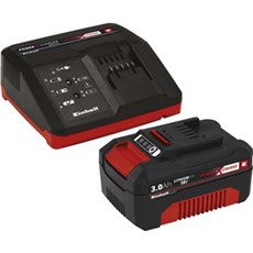 Einhell Batteri - ACCESSORY S�T MED OPLADER OG BATTERI 18 V