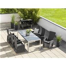 Outrium Havemøbelsæt - Alsace Barcelona 6 stole