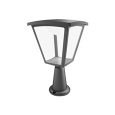 Philips Bedlampe - COTTAGE SOKKELLAMPE H36,5 CM - SORT