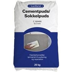 Scan Mørtel - Cementpuds/sokkelpuds 20 kg