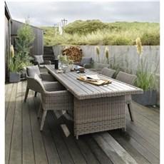 Outrium Havemøbelsæt - Altea/Sydney 6 stole