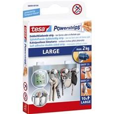Tesa® Dobbeltklæbende tape - Powerstrips® Large
