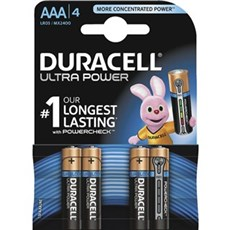 Duracell AAA batterier - Ultra Power AAA 4pk