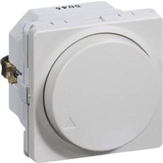 LK FUGA® Skydelysdæmper - Drejelysdæmper MEK-D 300CR 1 modul Lysegrå