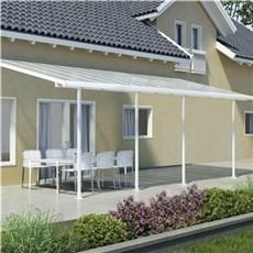 Palram Terrasseoverdækning - Feria terrasseoverdækning sampak 28,6 m2, hvid