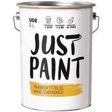 Just Paint Dækkende - TRÆBESKYTTELSE DÆKKENDE