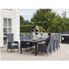 Outrium Havemøbelsæt - Toscana Lyon 8 stole