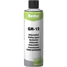 KEMA Glidemiddel - GM-12 glidemiddel, spray 500 ML