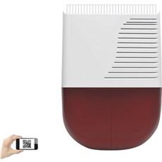 SikkertHjem™ Tilbehør til alarmsikring - S6evo™ Udendørs sirene med flashlys