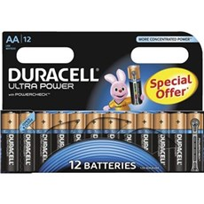 Duracell AA batterier - Ultra Power AA 12pk Special Offer