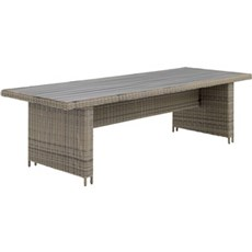 Outrium Havebord - Altea kubo grey