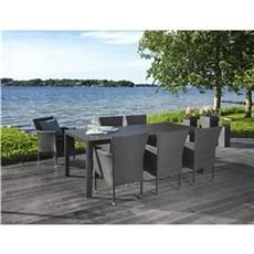 Outrium Havemøbelsæt - Toscana 6 stole