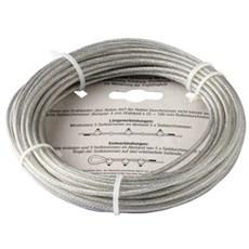 NKT Fasteners Kæde - Stålwire, PVC-belagt, elforzinket