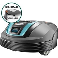 Gardena Robotplæneklipper - R50Li + Garage