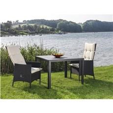 Outrium Havemøbelsæt - Toscana/Lyon 2 stole