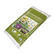 XL-Leaf Jord - Planteskole 80 liter