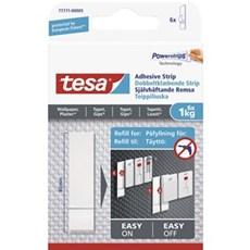 Tesa® Smart ophængningssystem - Dobbeltklæbende strips til tapet og gips