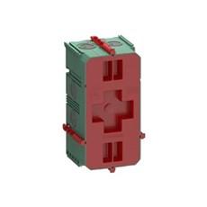 LK FUGA® Stikdåse - AIR dåse for indmuring  2 modul Grøn