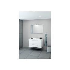 Scanbad Unit Badeværelsessæt - møbelpakke 100 cm, hvid