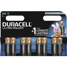 Duracell AA batterier - Ultra Power AA 8pk