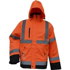 Lyngsøe Arbejdsjakke - Fox åndbar vinterjakke Str. L Orange