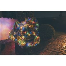 Det Gamle Apotek Lyskæde udendørs - Flerfarvet 600cm 120 LED lys