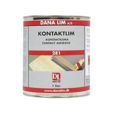 Dana Kontaktlim - 281 til tætte og porøse materialer 1LTR