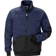 Kansas Arbejdsjakke - Gen Y sweat jakke 7052 L - Marine/sort