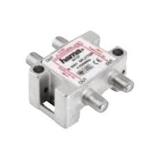 Jo-el Antennefordeler - 3- VEJS FORDELER MED F-CONNECT.