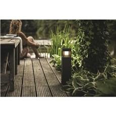 Philips Bedlampe - PARTERRE 1x8W Sort