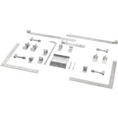 PLUS Tilbehør hegn - Beslag Dobbeltlåge m/justérbare stabler