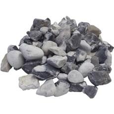 GRANIT.DK Perlesten - Pyntegrus 1000 kg Blå/hvid 10/20 mm