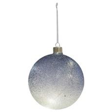 Christmas by Nordlux Julepynt med lys - CHRISTIAN GLASKUGLE BL�
