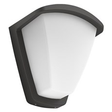 Philips Væglampe - Kiskadee IR wall lantern anthracite 1x42