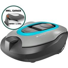 Gardena Robotplæneklipper - Sileno +1600 + Garage UB