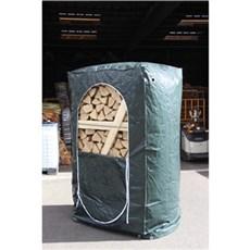 XL-BYG Pejsebrænde - Cover til ovntørret brænde