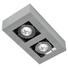 Eglo Spotlampe - LOKE LED GU10 - BØRSTET STÅL