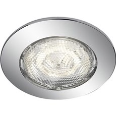 Philips Loftlampe - DREAMINESS recessed chrome 1x4.5W SELV