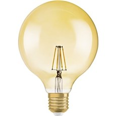 Osram LED - LED retrofit globe 34/824 E27 GOLD
