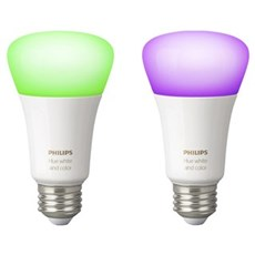 Philips LED - Hue White and Color Ambiance A60 E27 Retail 2P