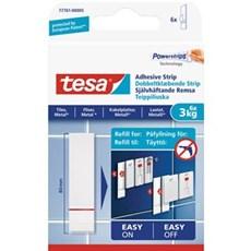 Tesa® Smart ophængningssystem - Dobbeltklæbende strips 3kg - Fliser og metal