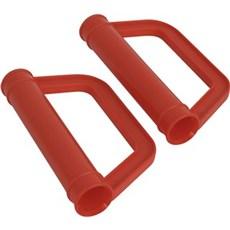 Ravendo Trillebør - Trillebørhåndtag plast ø 25 mm m. knobeskytter