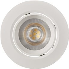 Nordlux Indbygningsspot - ROAR KIP LED IP23 DÆMP Hvid