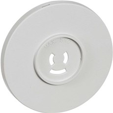 LK® Rosetmateriel Blænddæksel - Afdækning til rund lampestikkontakt Ø80 mm Lysegrå