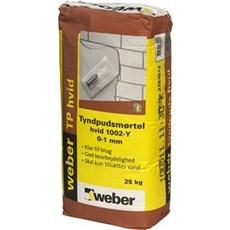 SAINT GOBAIN WEBER Mørtel - Tyndpudsmørtel 25 kg