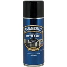 Hammerite Spraymaling - GLAT EFFEKT - 400 ML SORT