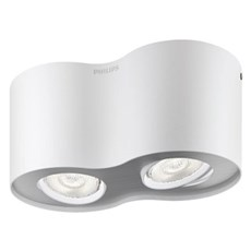 Philips Spotlampe - PHASE 2-SPOTS - HVID