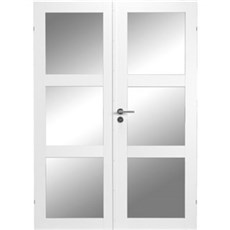 Swedoor Indvendig dør - Glasdør PURITY GW3L stående